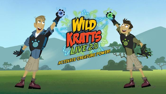 The Wild Kratts Live!