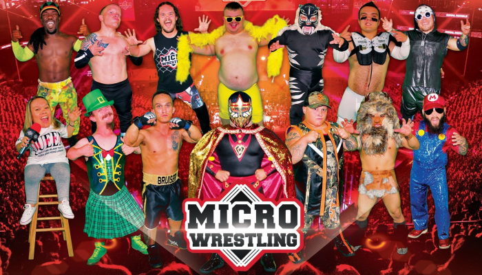 All-Ages Micro Wrestling at the Microtorium of Pigeon Forge! - May 24th