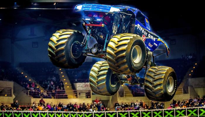 Monster X Tour - Monster Trucks and Tuff Trucks