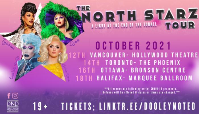 The North Starz Tour featuring Scarlett Bobo, BOA, Tynomi Banks and Juice Boxx