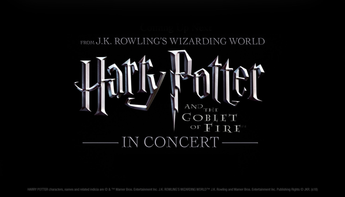 Harry Potter and the Goblet of Fire in concert W/ASO